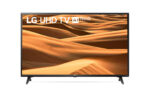 49″ UHD, DLED, DVB-C/T2/S2, Wide Viewing Angle, 4K Active HDR, ThinQ AI, webOS Smart TV, Built-in Wi-Fi, Bluetooth, Two Pole Stand, Ceramic Black