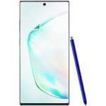 Samsung Galaxy Note 10+ Srebrna DS  12/256GB 68 160 Mpix + 120Mpix + 120 Mpix