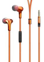 M30 Glaring universal earphones with microphone Orange
