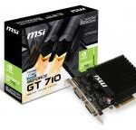 nVidia GeForce GT 710 2GB 64bit GT 710 2GD3H H2D