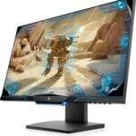 HP 25″ LED AG FHD 1920×1080, 16:9, 1000:1, 1 ms, 400 cd/m², 160°/170°, Pivot: 90°; Swivel: ±360°; Tilt: -4 to +20°, 1 DisplayPort, 1 HDMI, 1 headphone out, Gray, HP 25mx