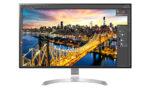 32 3840 x2160 LED IPS Ultra HD 5ms 1300:1 350cd/m² 178°/178° HDMI Display Port USB Type C FreeSync Flicker Safe 2x5W speakers