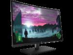 27 Curved LED 1920 x 1080 FHD 5 ms3000:1 300 cd/m²1x HDMI Display port AMD FreeSync 144HzBlack HP 27x Curved Display