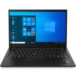 Lenovo ThinkPad X1 Carbon G8 (BLACK) Core i7-10510U (4C/8T, 1.8/4.9GHz, 8MB), DDR3L 16GB(int), SSD 1TB PCIe NVMe 2280, 14.0″ FHD (1920×1080) IPS AG 400n, Intel UHD Graphics, GLAN (via Eth Ext Cbl), WLAN, BT5.0, NFC, KybSR BL, FPR, Cam720p+IR, 51Wh, Win 10 Pro