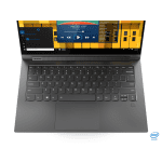 Lenovo YOGA C940-14 (Iron Grey, Aluminium) QuadCore i5-1035G4 1.1-3.7GHz/6MB 8GB DDR4 256GB-SSD-NVMe 14″ FHD (1980×1080) IPS 400N 10-p TouchGlossy WC-720p Intel® Iris® Plus Graphics WiFi AC BT4.1 BT-ActivePen USB-C-type 3-1-Hub Backlite FPR Batt-60Wh Win10Home