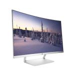 27 Curved LED 1920 x 1080 FHD 5 ms3000:1 300 cd/m²1x HDMI Display port AMD FreeSync White HP 27 Curved Display