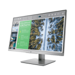 HP 24″ LED IPS, 1920×1080@60Hz, 5ms, 16:9, 250cd/m2, 1000:1, V178/H178, VGA, HDMI 1.4, DisplayPort 1.2, 2x USB 3.0, Tilt, Swivel, Pivot, Hight Adjust. Silver/Black, HP EliteDisplay E243, 3yw
